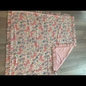 Handmade kids fleece blanket